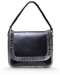 Paco Rabanne Medium Leather Bag - Lyst
