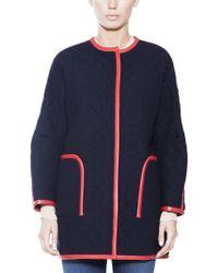 Rachel Comey Drop Shoulder Coat - Lyst
