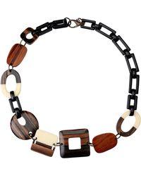 Erika Cavallini Semi Couture Necklace - Lyst