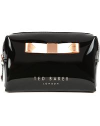 Ted Baker Piave Small Bow Wash Bag - Lyst