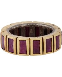 Nak Armstrong - Baguette Ring - Lyst