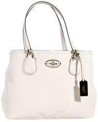 Coach Handbag Bag Kitt Carryall Shopping Leather - Lyst
