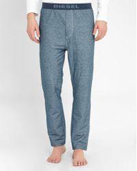 DIESEL | Blue Denim Julio Pyjama Trousers | Lyst