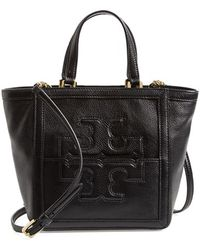 Tory Burch 'Mini Jessica' Leather Tote - Lyst