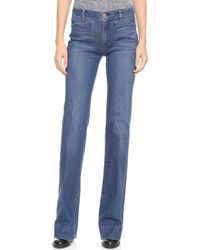 Marc By Marc Jacobs San Francisco Crease Jeans Lucille - Lyst