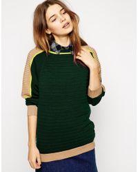 Shae Biker Sweater - Lyst