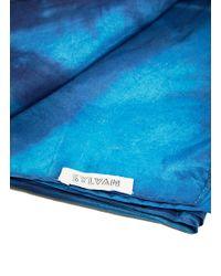 Sylvan - Unisex Shibori Dyed Scarf From Ss15 In Indigo - Lyst
