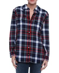 Equipment Signature Flannel Button Down - Lyst
