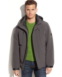 Calvin Klein Hooded Soft-shell 3-in-1 Systems Jacket - Lyst