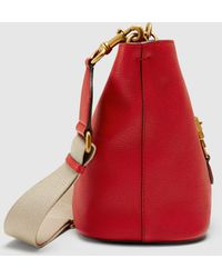 Gucci - Jackie Soft Leather Bucket Bag - Lyst