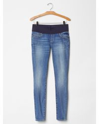 Gap 1969 Demi Panel Resolution True Skinny Jeans - Lyst