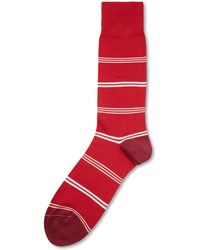 Paul Smith Striped Cotton-blend Socks - Lyst