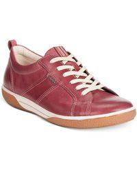 Ecco Women'S Chase Tie Sneakers - Lyst