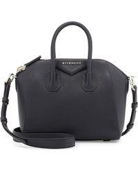 Givenchy Antigona Mini Sugar Leather Satchel Bag - Lyst