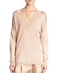 Rag & Bone Yvette V-Neck Sweater - Lyst