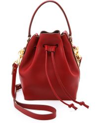 Sophie Hulme Small Drawstring Bucket Bag  - Lyst