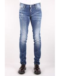 DSquared² Jeans Slim Light Rider Wash - Lyst