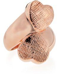 Tuleste Double Heart Ring - Lyst