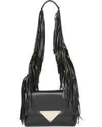 Sara Battaglia Teresa Smooth Leather Shoulder Bag - Lyst