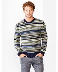 Gap Lambswool Holiday Mod Stripe Sweater - Lyst
