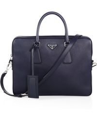 prade handbag - Shop Men's Prada Briefcases and Work Bags | Lyst