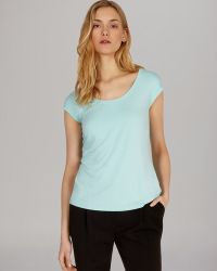 Karen Millen Tee Colorful Essential - Lyst
