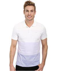Calvin Klein Short Sleeve Engineered Strip - Lyst