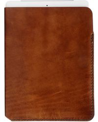 Winter Session Spencer Ipad Sleeve brown - Lyst