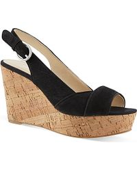 Nine West Caballo Wedge Sandals - For Women - Lyst