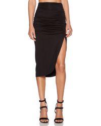 Rachel Pally Black Monte Skirt - Lyst
