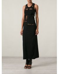 Jean Paul Gaultier Macrame Dress - Lyst