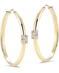 Ivanka Trump - Metropolis Sol 18k Hoop Earrings With Diamonds - Lyst