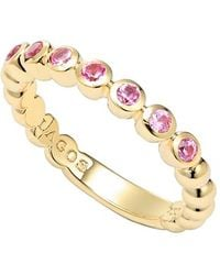 Lagos 'Covet' Stone Caviar Stack Ring gold - Lyst
