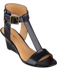 Nine West Rileigh Wedge Sandals - Lyst