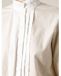 Guy Laroche - Stand-up Collar Shirt - Lyst