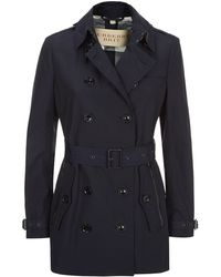 Burberry Brit Brookes Trench Coat - Lyst