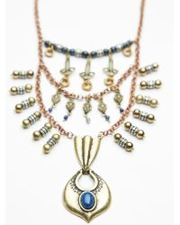 Free People Rio Statement Necklace - Lyst