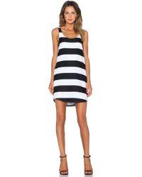 Blaque Label - Striped Tank Dress - Lyst