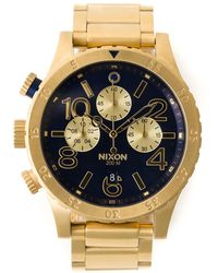 Nixon 'The 48-20 Chrono' Watch - Lyst
