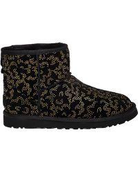 Ugg | Classic Mini Embellished Boots | Lyst