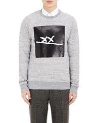 Marc Jacobs | Sequined Fleece Sweatshirt | Lyst