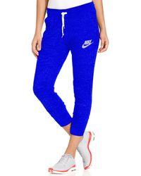 Nike Gym Vintage Capri Sweatpants - Lyst