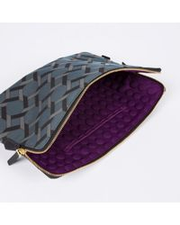 Paul Smith 'Belvoir Tiles' Print Laptop Sleeve - Lyst