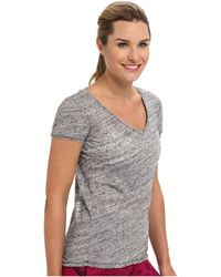 Beyond Yoga Teardrop Back Tee - Lyst
