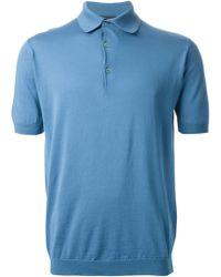 John Smedley 'Adrian' Polo Shirt - Lyst