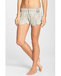 Hard Tail - 'Runner' Knit Shorts - Lyst