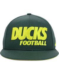 Nike Oregon Ducks Snapback Cap - Lyst