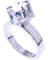 Ted Baker - Sugar: Crystal Cube Ring - Lyst