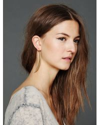 Free People Moon Spike Earring - Lyst