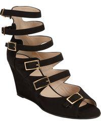 Chloé Multi-strap Wedge Sandal - Lyst